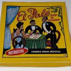Juegos de mesa: ANTIGUO JUEGO DE MESA MONOPOLY - EL PALE - JUEGO DE SOCIEDAD INSTRUCTIVO - AÑOS 50 / 60 MALAGA. Lote 175077585