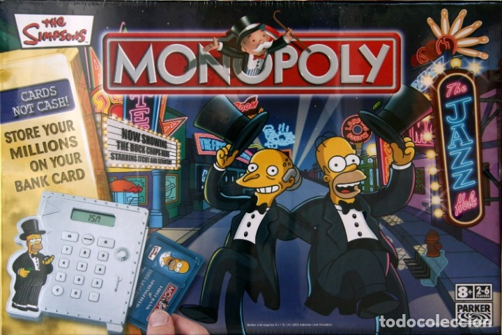 LOS SIMPSONS & MONOPOLY LOS SIMPSONS UK (Juguetes - Juegos - Juegos de Mesa)