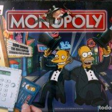 Juegos de mesa: LOS SIMPSONS & MONOPOLY LOS SIMPSONS UK. Lote 175222322