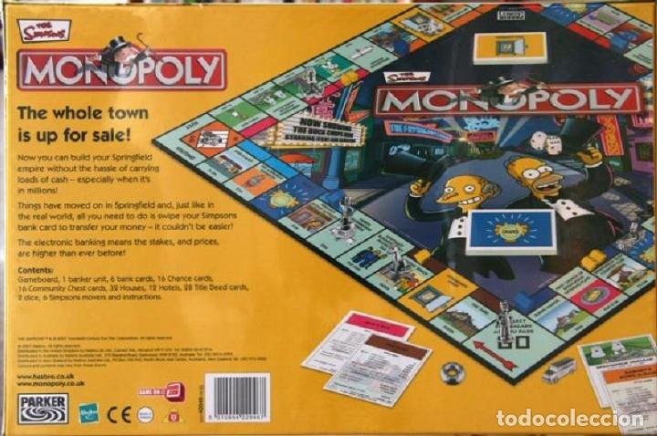 Juegos de mesa: Los Simpsons & Monopoly Los Simpsons UK - Foto 2 - 175222322