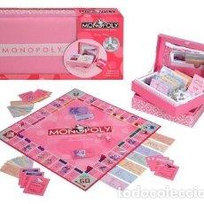 Juegos de mesa: MONOPOLY PINK BOUTIQUE EDITION EDICIÓN EN CASTELLANO. Lote 175223979
