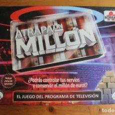 Juegos de mesa: ATRAPA UN MILLÓN BORRAS. Lote 175298952