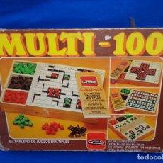 Juegos de mesa: GOULA -MULTI-100, TABLERO DE JUEGOS MULTIPLES, REF: 1600, VER FOTOS Y DESCRIPCION! SM. Lote 175361244