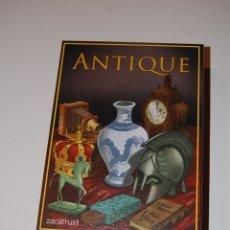 Giochi da tavolo: JUEGO DE MESA ANTIQUE. COMPLETO. EDITORIAL ZACATRUS. EN ESPAÑOL.. Lote 175362654