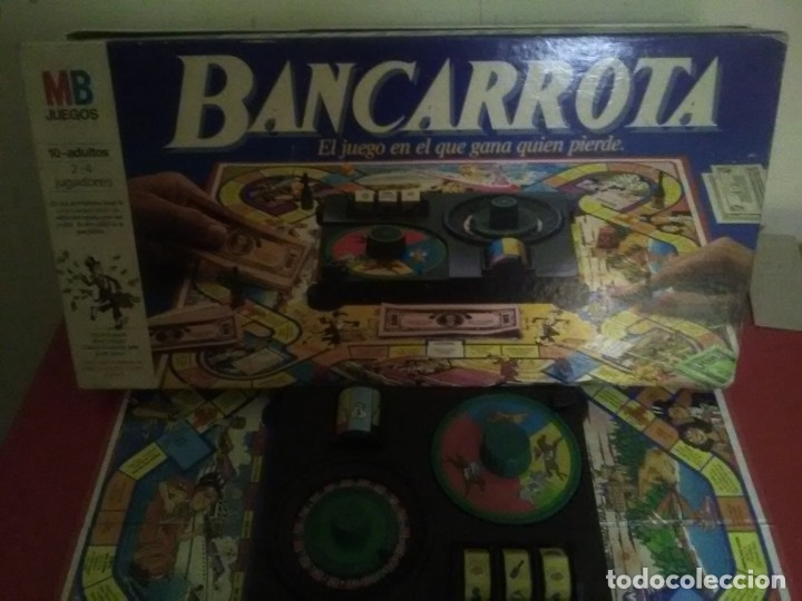 JUEGO MESA COMPLETO BANCARROTA (Juguetes - Juegos - Juegos de Mesa)