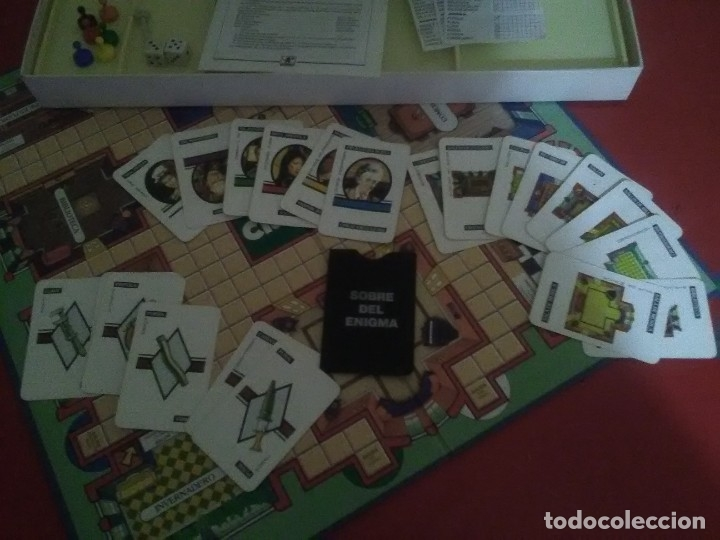 Juegos de mesa: JUEGO DE MESA CLUEDO - Foto 3 - 175369654