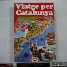 Juegos de mesa: VIATGE PER CATALUNYA - EDUCA - 1983. Lote 175454649