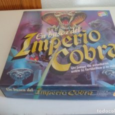 Juegos de mesa: EN BUSCA DEL IMPERIO COBRA CEFA JUEGO DE MESA. COMPLETO EN BUEN ESTADO. Lote 175513053