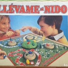 Juegos de mesa: JUEGO LLÉVAME AL NIDO DE MB. Lote 175830524