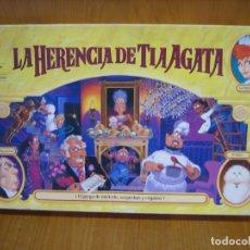 Juegos de mesa: ANTIGUO JUEGO LA HERENCIA DE LA TIA AGATA DE MB. Lote 175861797