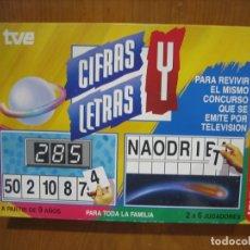 Juegos de mesa: JUEGO CIFRAS Y LETRAS. Lote 175899648