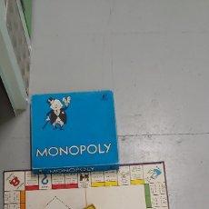 Juegos de mesa: MONOPOLY CAJA AZUL BORRAS CALLES BARCELONA CAJA2. Lote 175932487