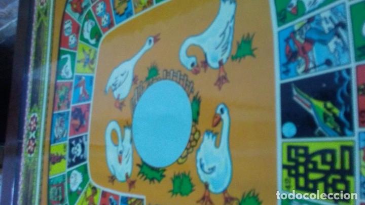 Juegos de mesa: ANTIGUO TABLERO JUEGO DE LA OCA PARCHÍS - Foto 4 - 176028398