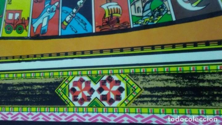 Juegos de mesa: ANTIGUO TABLERO JUEGO DE LA OCA PARCHÍS - Foto 5 - 176028398