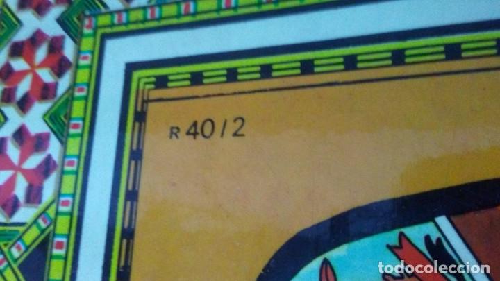 Juegos de mesa: ANTIGUO TABLERO JUEGO DE LA OCA PARCHÍS - Foto 7 - 176028398