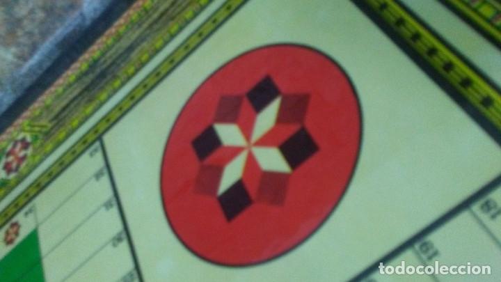 Juegos de mesa: ANTIGUO TABLERO JUEGO DE LA OCA PARCHÍS - Foto 12 - 176028398