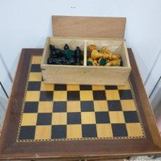 Juegos de mesa: AJEDREZ DE MADERA. Lote 176070180