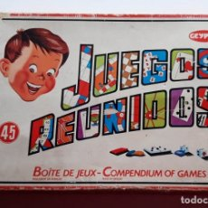 Juegos de mesa: 45 JUEGOS REUNIDOS JEYPER, AÑOS 60. FOTOS DE TODO EL CONTENIDO. Lote 176073137
