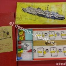 Juegos de mesa: INTRIGA. ANTIGUO JUEGO DE ESPIONAJE. COMPLETO. MUY BUEN ESTADO. Lote 176106088