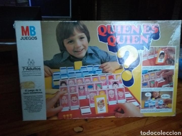 QUIEN ES QUIEN 1ED 1982 LEER ANTES (Juguetes - Juegos - Juegos de Mesa)
