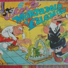 Juegos de mesa: LOTERIA MORTADELO Y FILEMON. JUGUETES PIQUE BRUGUERA.. Lote 176189234