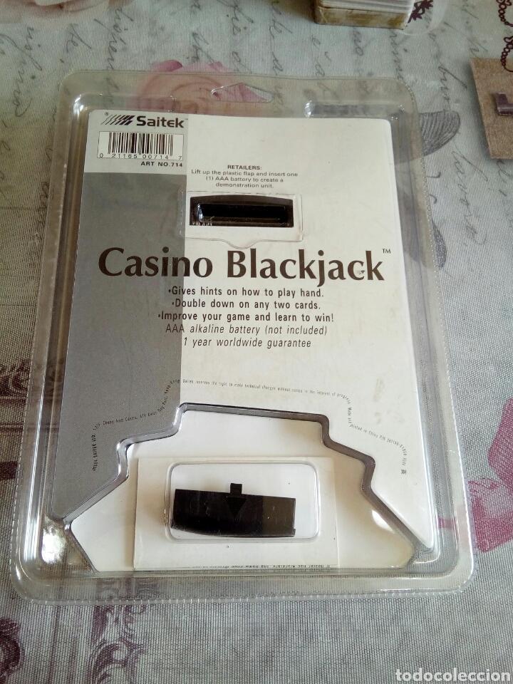 Juegos de mesa: JUEGO ELECTRÓNICO DE CASINO BLACK JACK - Foto 2 - 176267623