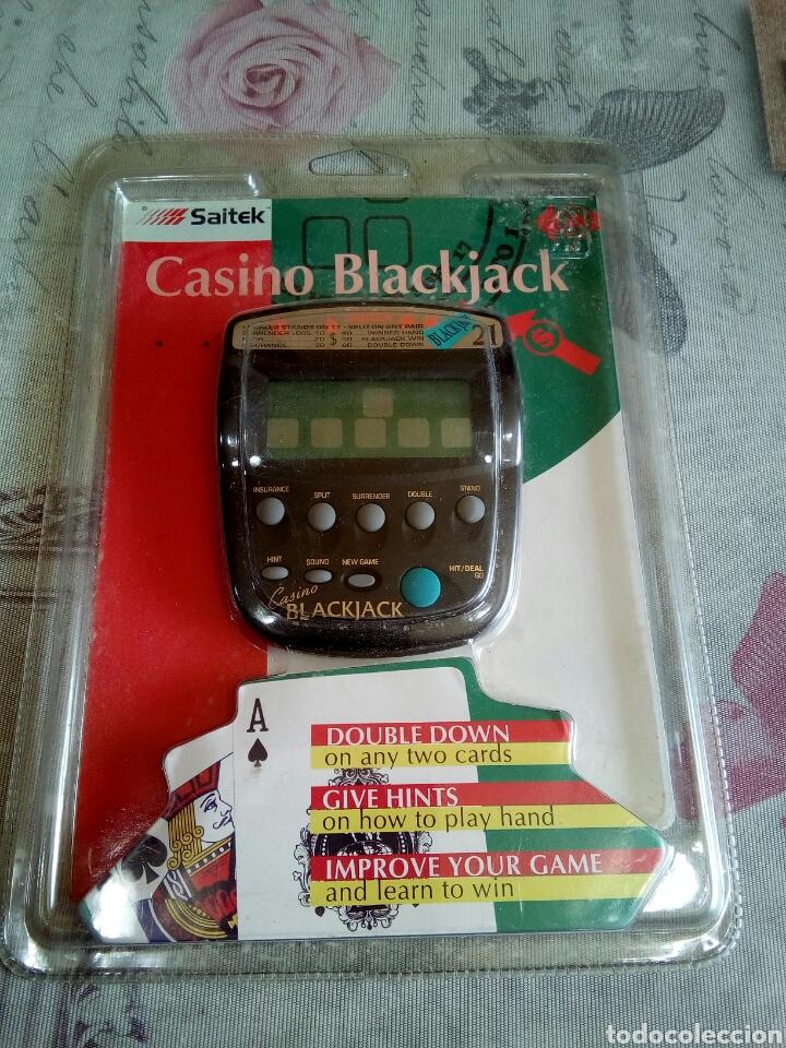 JUEGO ELECTRÓNICO DE CASINO BLACK JACK (Juguetes - Juegos - Juegos de Mesa)