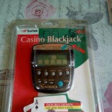 Juegos de mesa: JUEGO ELECTRÓNICO DE CASINO BLACK JACK. Lote 176267623