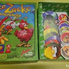 Juegos de mesa: JUEGO DE MESA EN ALEMÁN INGLÉS ZICKE ZACKE - COMPLETO. Lote 176285422