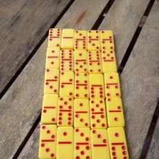 Juegos de mesa: MINI DOMINO PUBLICIDAD J&B DENTRO DE MOCHILA PUBLICIDAD SAN MIGUEL. Lote 176337545