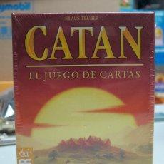 Juegos de mesa: CATAN EL JUEGO DE CARTAS - DEVIR. Lote 176421149