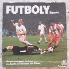 Juegos de mesa: FUTBOLY ESPAÑA JUEGO DE MESA BORRÁS AÑOS 80. Lote 176509142