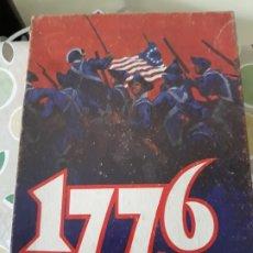 Juegos de mesa: WARGAME 1776, GUERRA INDEPENDENCIA DE EEUU DE AVALON HILL . Lote 176513200