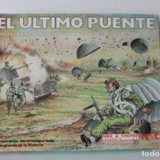 Juegos de mesa: JUEGO DE MESA NAC - EL ULTIMO PUENTE - 1944 LA BATALLA DE ARNHEM - AÑO 84 - COMPLETO. Lote 176557495
