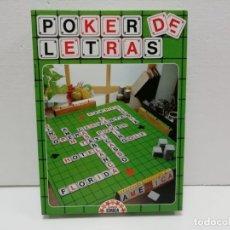 Juegos de mesa: JUEGO POKER DE LETRAS EDUCA 1981 PRECINTADO ALMACÉN. Lote 176611340
