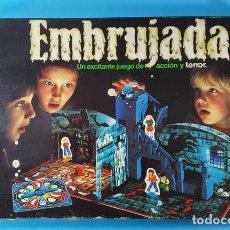 Juegos de mesa: EMBRUJADA, UN EXCITANTE JUEGO DE ACCION Y TERROR, MB 4026 05, INCOMPLETO, LO QUE SE VE EN LAS FOTOS. Lote 176845517