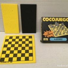Juegos de mesa: JUEGO DE AJEDREZ DE VIAJE DE EVALAND AÑO 1990. Lote 176934087