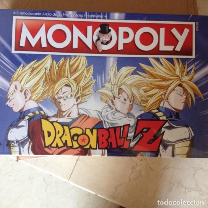 Dragon Ball Z monopolio Juego De Mesa
