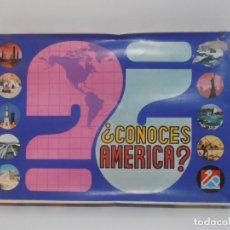 Juegos de mesa: JUEGO CONOCES AMERICA? DALMAU, AÑOS 70. Lote 176989173