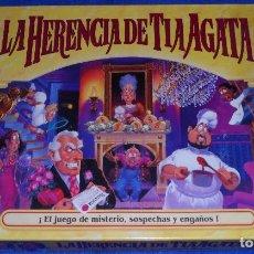 Juegos de mesa: LA HERENCIA DE TÍA AGATA - MB JUEGOS ¡COMPLETO!. Lote 177018795