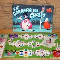 Juegos de mesa: LA CARRERA DEL CHOLLO - DALMAU CARLES PLA - COMPLETO - AÑOS 80 - UN DOS TRES. Lote 177175028