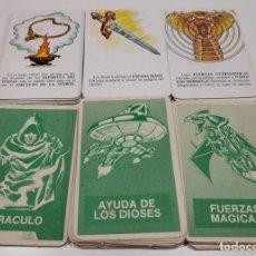 Juegos de mesa: LOTE DE 40 CARTAS JUEGO EL IMPERIO COBRA , 8 ORACULO , 13 FUERZAS MAGICAS , 19 AYUDA DE LOS DIOSES. Lote 177433429