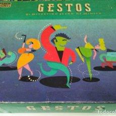 Juegos de mesa: JUEGO DE MESA GESTOS DE PARKER. Lote 177747225