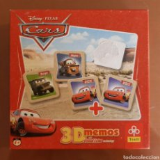 Juegos de mesa: 3D MEMOS CARS CARTAS DISNEY PIXAR. Lote 177834595