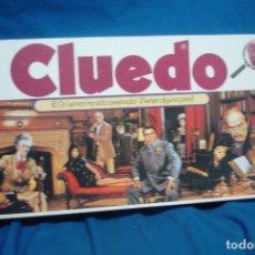 Juegos de mesa: CLUEDO - GRAN JUEGO DE MESA DE BORRAS AÑOS 80. Lote 177837198