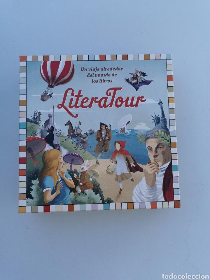LITERATOUR UN VIAJE ALREDEDOR DEL MUNDO DE LOS LIBROS. CÍRCULO DE LECTORES 2013 (Juguetes - Juegos - Juegos de Mesa)