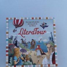 Juegos de mesa: LITERATOUR UN VIAJE ALREDEDOR DEL MUNDO DE LOS LIBROS. CÍRCULO DE LECTORES 2013. Lote 177840273
