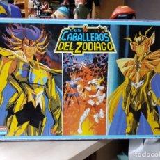 Juegos de mesa: LOS CABALLEROS DEL ZODIACO.JUEGO DE MESA DE FALOMIR TOEI ANIMATION 1988.. Lote 177872479