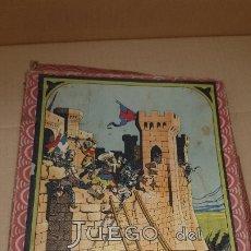 Juegos de mesa: ANTIGUO JUEGO AÑOS 40/50 EL ASALTO CON TABLERO Y FICHAS TODO OIRGINAL. Lote 177874247