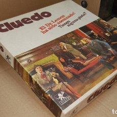 Juegos de mesa: ANTIGUO JUEGO CLUEDO DE BORRAS - COMPLETO CON INSTRUCCIONES - CAJA PEQUEÑA . Lote 177883855
